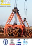 Nuevo gancho agarrador mecánico de la madera de la cuerda del motor eléctrico, gancho agarrador hidráulico de la madera