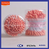 100 PCS Orange Color Cotton Buds Fabricant