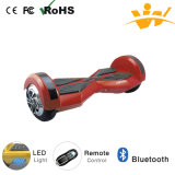 전기 Mobility Scooter 8inch Electric Balancing Scooter Bluetooth LED Light