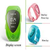 Reloj elegante de los niños de la llamada de Gelbert GPS SOS para el IOS androide
