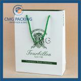 Niedriger Fabrik-Preis-Papierbeutel mit Griff (DM-GPBB-134)