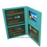 4.3inch Video Visitenkarte Video Greeting Card Video Advertizing Card für Promotion (ID4301)