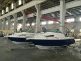 Barco de pesca de alta velocidade da fibra de vidro