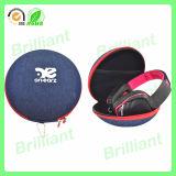 Caja protectora del auricular redondo del almacenaje de EVA de la fábrica del OEM (HC-603)