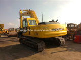 Excavador hidráulico usado de KOMATSU PC220-6 del excavador de la correa eslabonada