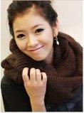 2016新しい方法極度の柔らかく若い男の子の女の子の管の首スカーフ編むパターン