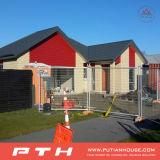 Casa prefabricada de acero del chalet de la alta luz económica de la ventaja