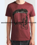 T-shirt en gros chaud fait sur commande d'hommes d'impression de mode de coton d'été