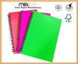Cuaderno directo del diario del alambre del cuaderno espiral de la fábrica