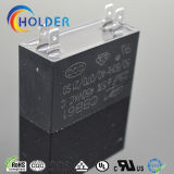 Metallisierter Polypropylen-Ventilator-Kondensator (Cbb61 255j/450VAC) für Ventilatormotor-Ventilator-Ersatzteile mit 4 StiftFlugschreiber-Anfangsbewegungslack-läufer