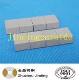 El carburo cementado del tungsteno Yg6 vio las piezas insertas para el uso de madera del corte