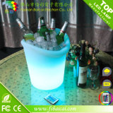 Cubo de hielo de la cerveza del LED / cubo de hielo impermeable del PE