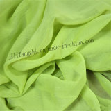 Customed hizo girar la tela impresa poliester de la bufanda