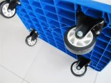 Capienza di plastica 300kgs del carrello della mano della piattaforma di alta qualità