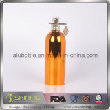 Бутылка косметик нового UV покрытия алюминиевая