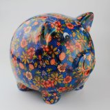 Côté de pièce de monnaie Shaped personnalisé par vente en gros de porc de prix bas