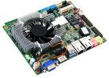 Новым материнская плата врезанная Heatsink промышленная Hm67 с 3G/WiFi/COM/USB