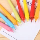 Pen van de Ballpoint van de Vingers van het Silicone van de Kleur van het suikergoed de Leuke