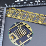 Kundenspezifisches Stahlelektrisches SelbstMessingblech, das Teile stempelt