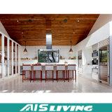 シンプルな設計PVC台所食器棚の家具(AIS-K208)