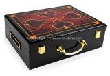 Случай обломока покера 500 частей высокого лоска деревянный