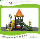 Apparatuur van de Speelplaats van de Kinderen van de Dia van de Familie van het Thema van het Kasteel van de Groep van Kaiqi de Recentste Favoriete Openlucht