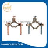 鋳造物のワイヤー範囲10 - 2のための青銅色の地上クランプ