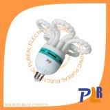 Lâmpada energy-saving da flor e CFL
