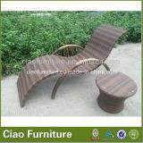 Ganascia di salotto di vimini del Chaise del raggruppamento della mobilia del rattan