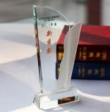 Venta caliente del precio bajo Premio Trofeo de cristal de regalo del recuerdo