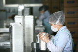 Conteneur remplaçable de papier d'aluminium pour le restaurant