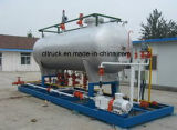 나이지리아를 위한 5ton LPG Mounted Station Mobile LPG Gas Filling Station Plant