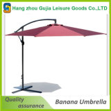 Parapluie de plage extérieur autonome de banane de patio de fournisseur de la Chine