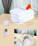 100%年の綿の白いホテルタオルセット
