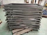 Fabricação de metal feita sob encomenda da folha da boa qualidade para a cremalheira elétrica