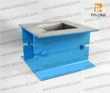 Ferro de molde modelo do Cm ou molde de aço ou plástico do cubo para o teste concreto