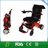 Litio Battery Joystick Controller Folding Wheelchair per Disabled