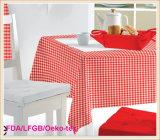 Gedruckte Tischdecke mit nichtgewebtem Schutzträger (TJ0009-A)