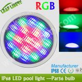 Lf-PAR56-18 * 3W (RVB 3 IN 1 LED) PAR56 Piscine Eauipment-Underwater Light \ / IP68 plastique Hull PAR56 Lumière