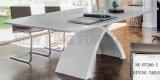 A tabela de jantar de jantar original a mais nova dos pés da M-Forma das fotos da mobília (NK-DT230-1)
