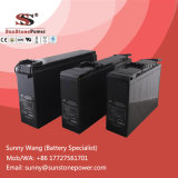 12V 55ah de Diepe Batterij van de Batterij SLA van de Telecommunicatie van de Cyclus Voor Eind