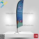 110GSM de Banner van de Vlag van de Veer van de Vorm van de Boog van de Vlag van het Strand van de polyester