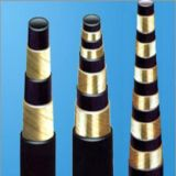 Tuch-flexibles Gummioberflächenöl-hydraulischer Schlauch für Befestigung