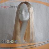 긴 피부 상단 Yaffa 인간적인 Remy 머리 여자 가발