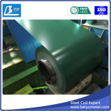 A cor de ASTM PPGI revestiu a chapa de aço/bobina Prepainted