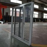 Окно Andoized Surfacement порошка Coated алюминиевое сползая с нержавеющей сталью Buglar сетчатым Kz119