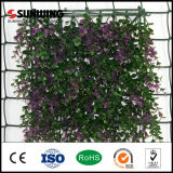 Neuer Ideas Purple Leaves Artificial Fence Garten mit Fireproof Test