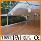 Сень шатёр напольного шатра свадебного банкета PVC мебели прозрачная