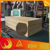 Lãs de rocha externas à prova de fogo da isolação térmica da parede (construção)