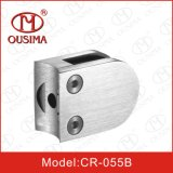 Handrail System (CR-055B)のためのステンレス製のSteel Round Shape Glass Clamp Spigot